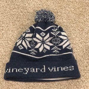 Vineyard Vines Beanie/Winter Hat With Pom Pom
